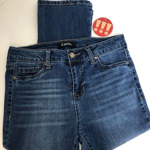 D. Jeans-stylish blue jeans with some whisking.